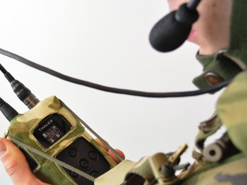 Thales Launches New Secure Soldier Radio