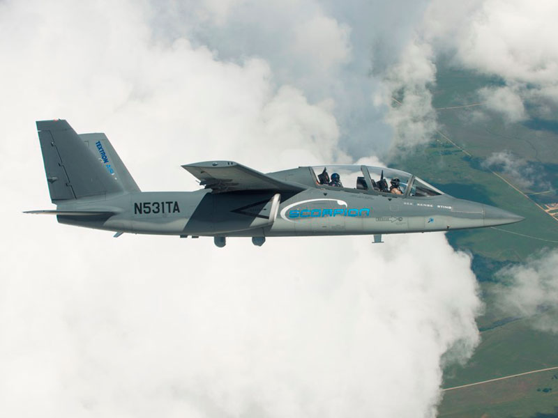 Thales, Textron Integrate I-Master Radar on Scorpion Jet
