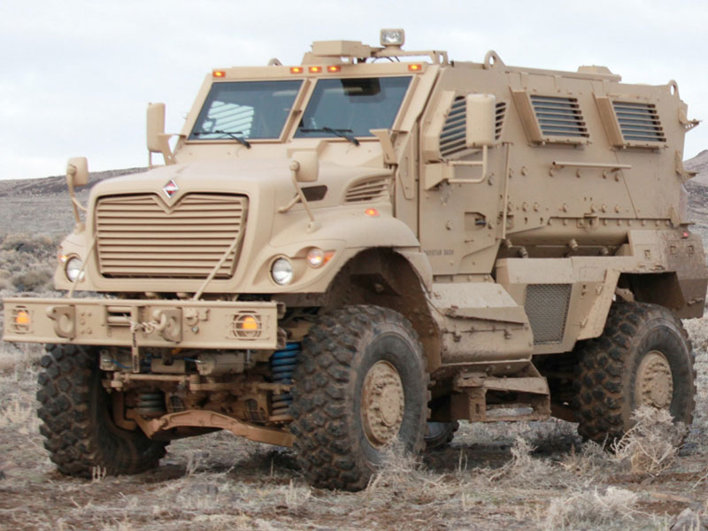 US Donates 250 MRAP Vehicles to Iraq to Fight ISIL