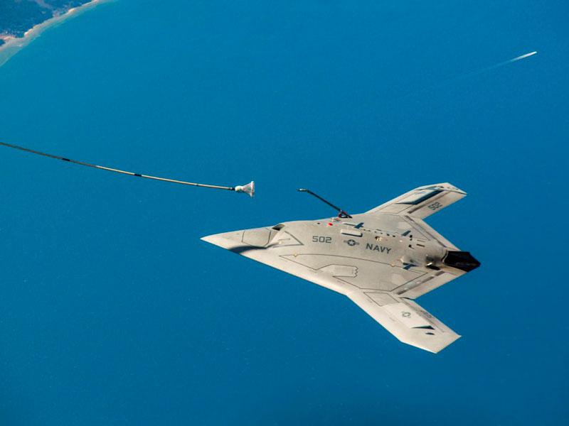 X-47B Demos First Ever Autonomous Aerial Refueling