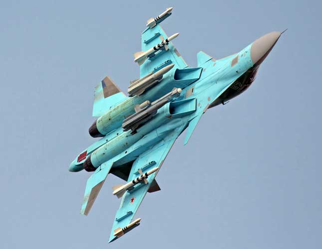 Su-34 to Get New Armament, Electronic Warfare Systems