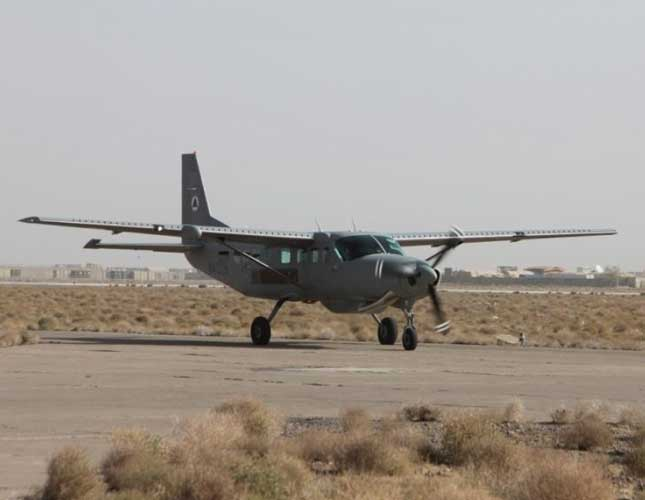 Textron to Provide Support Services for Afghan Air Force