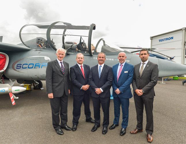 Thales, QinetiQ Select Textron Scorpion Jet for ASDOT Bid