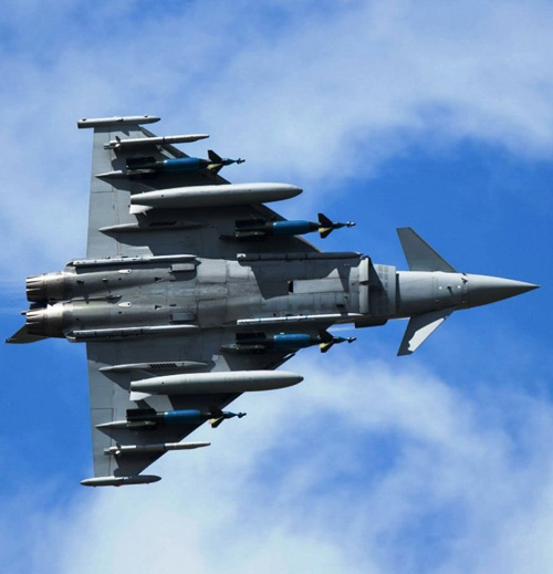 New Flight Trials for Eurofighter Typhoon with Brimstone