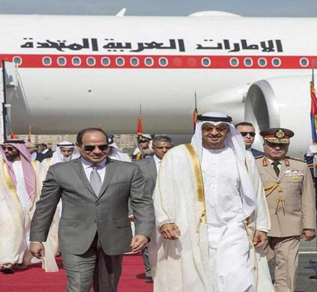 Egyptian President Receives Abu Dhabi Crown Prince