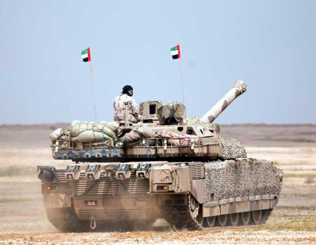 UAE Leclerc Tank