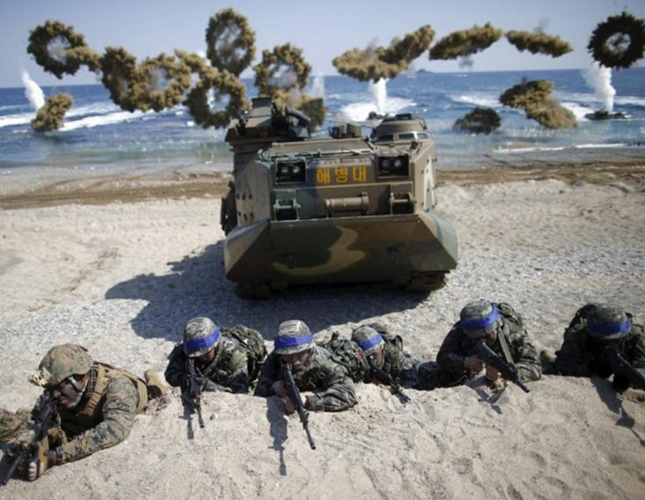 South Korea, US Start Joint Amphibious Drill