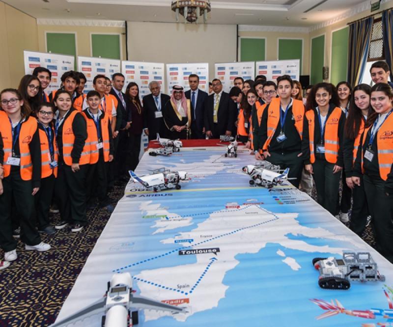 Airbus Little Engineer Workshop Takes off in Jordan