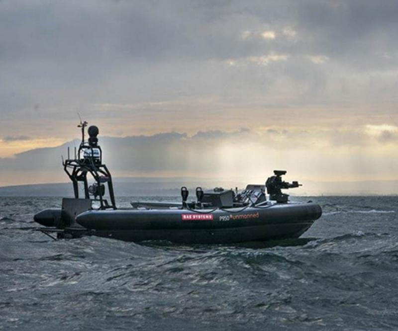 BAE Systems Completes Trials on First Robot Warship