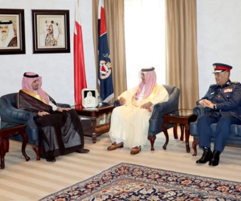 Bahrain's Interior Minister Receives Naif University President