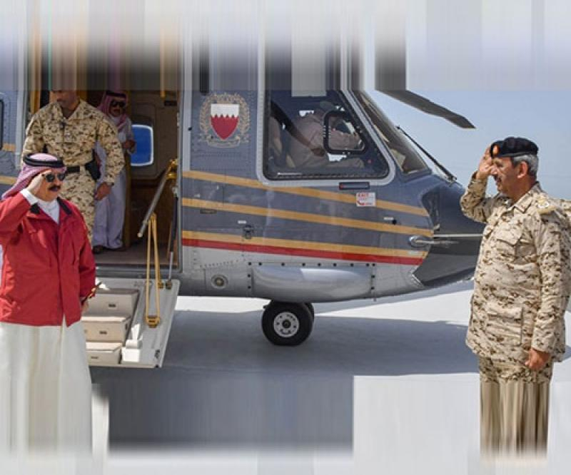 Bahrain's King Patronizes 'Shield of the Nation 2020' Tactical Drill