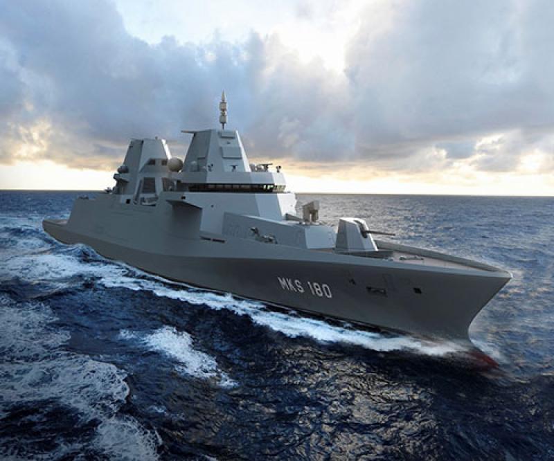 Damen to Build Four MKS-180 Frigates for German Navy