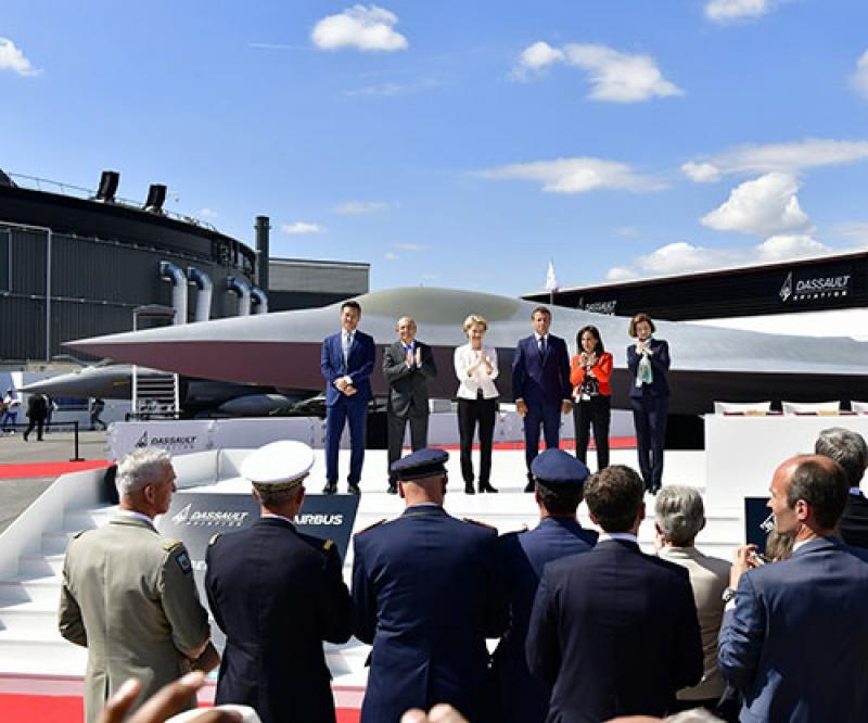 Dassault, Airbus CEOs Call for Progress on Future Combat Air System (FCAS)