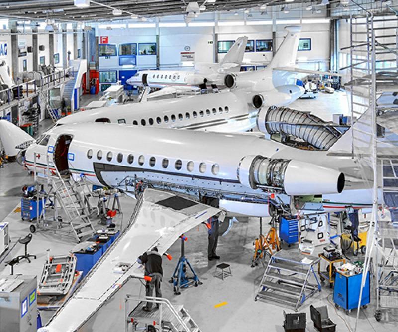 Dassault Aviation Acquires Ruag's Business Aviation Sites in Geneva, Lugano
