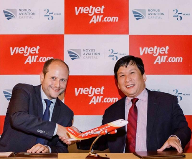 Dubai's Novus, Vietjet Sign MoU for Financing & Leasing of 10 Aircraft