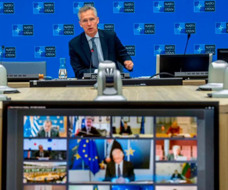 EU Defense Ministers, NATO Discuss COVID-19 Implications