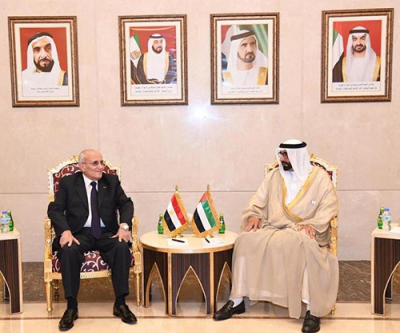 Egypt's Minister of State for Military Production Visits UAE