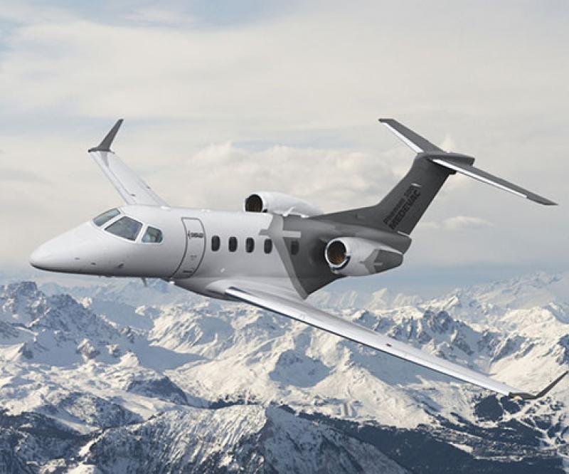 Embraer's Phenom 300E First Single-Pilot Jet to Reach Mach 0.80