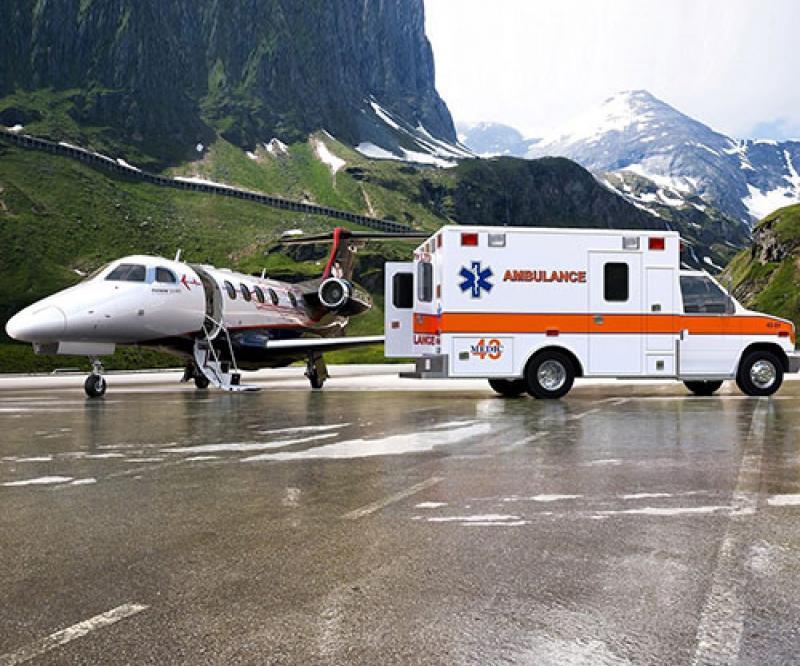 Embraer Unveils Phenom 300MED for Medevac Operations