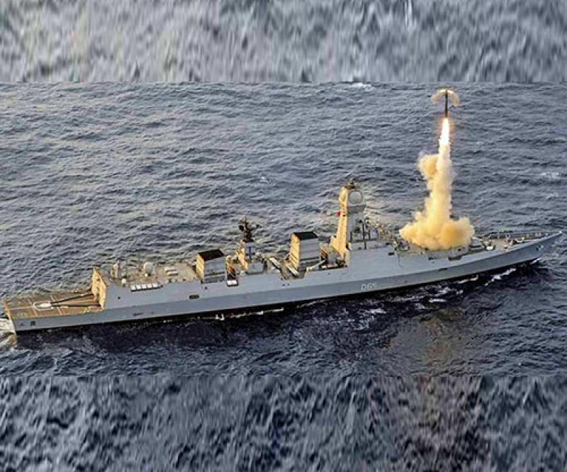 India Test-Fires Naval Version of BrahMos Supersonic Cruise Missile