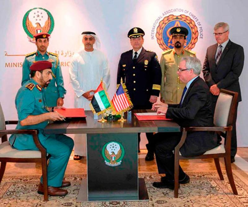 International Association of Chiefs of Police Eyes Regional Office in Abu Dhabi
