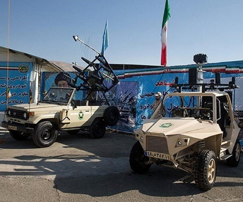 Iran Unveils Five New Products for Ground Troops