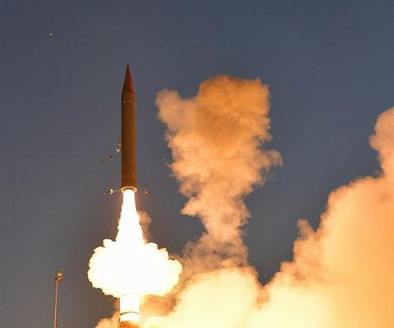 Israel, U.S. Test Arrow 3 Long-Range Ballistic Missile Defense System