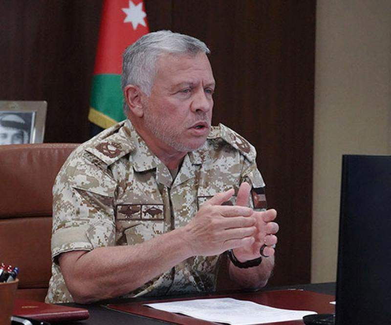 Jordanian King Joins Virtual Special Operations Forces Industry Conference