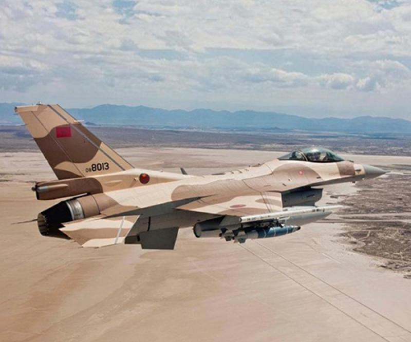 Morocco Requests Continuation of F-16 Sustainment Support