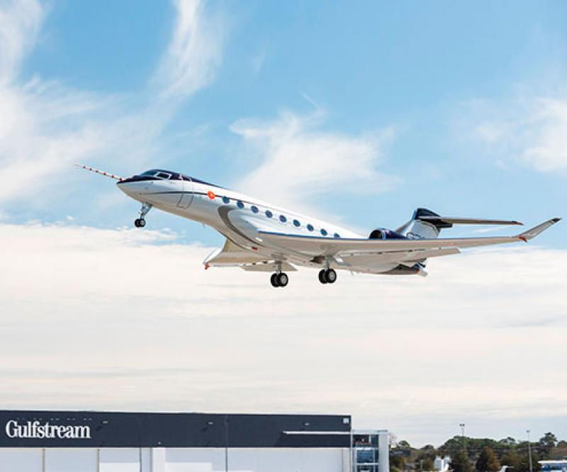 New Gulfstream G700 Makes First Flight