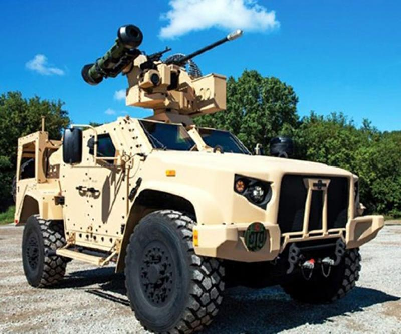 Oshkosh Defense's JLTV Participates in Javelin Flight Test
