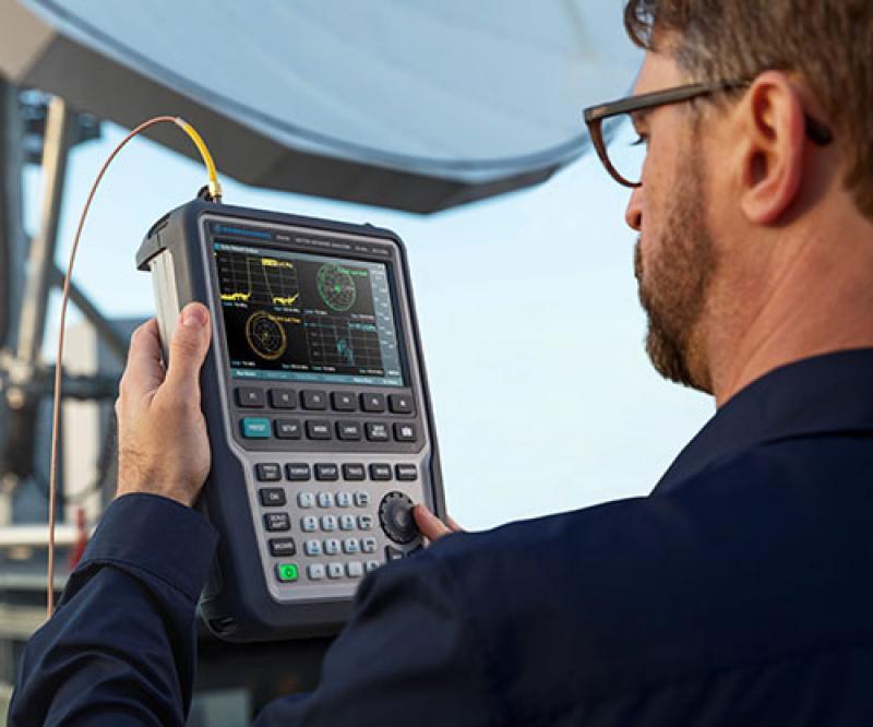 Rohde & Schwarz Unveils New Handheld Vector Network Analyzer up to 26.5 GHz