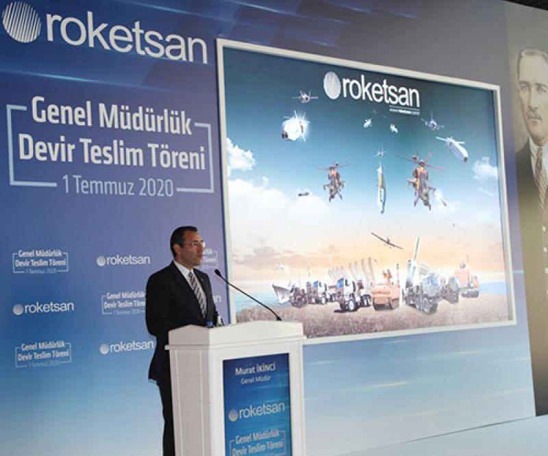 Roketsan Appoints Murat İKİNCİ New President & CEO