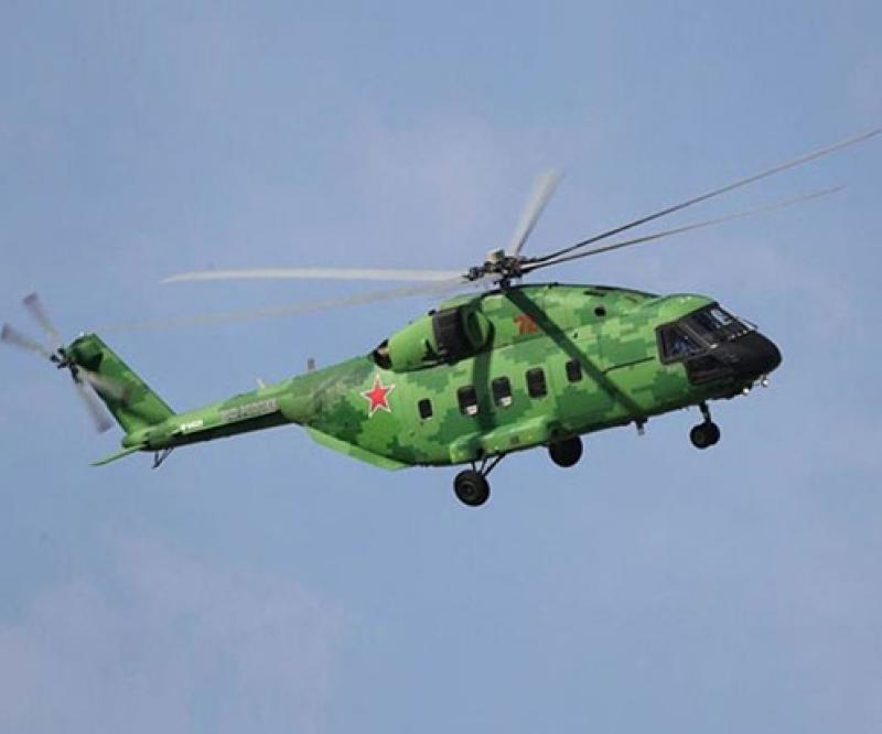 Rosoboronexport Wins First Export Order for Mi-38T Helicopter