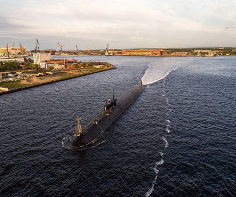 Russia's Newest Nuclear-Powered Submarine Enters Service