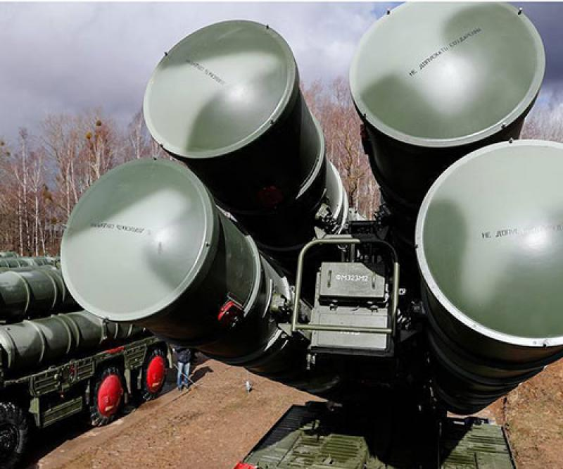 Russia Test-Fires New S-400 Air Defense Missile Systems