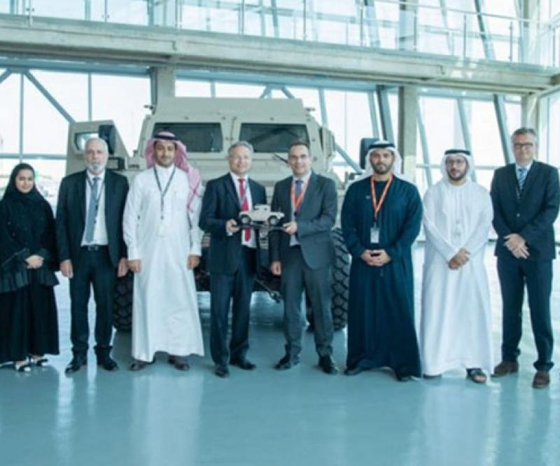 SAMI CEO Tours NIMR's Armored Vehicles Facility