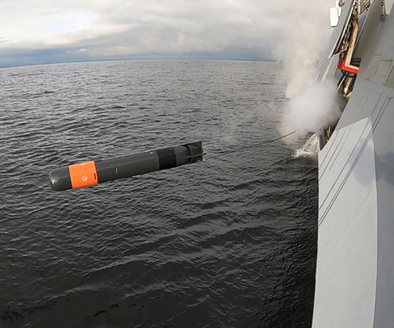 Saab Lightweight Torpedo Conducts First Tests from Corvette & Submarine
