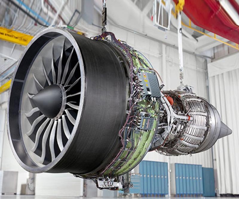 Sanad, GE Aviation Celebrate 100th GEnx Engine Maintenance Milestone