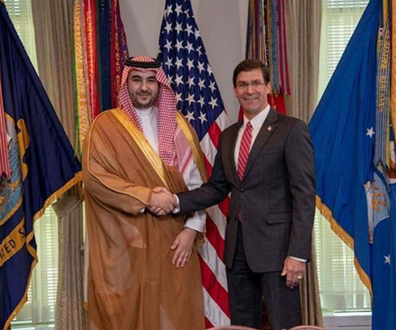 Saudi Deputy Minister of Defense Concludes Visit to USA