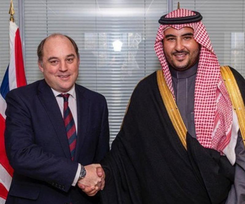Saudi Deputy Minister of Defense Hails Strategic Partnership with UK