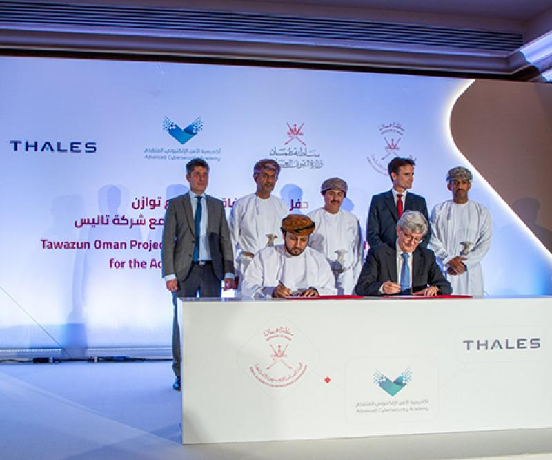 Thales Signs Offset Agreement for Oman's Cyber Academy
