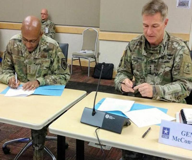US Army, USAF to Co-Develop Battlefield Communications Network