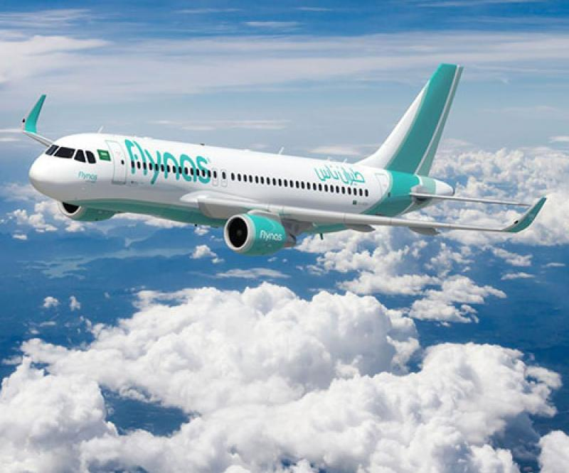 flynas Renamed Middle East's Leading Low-Cost Airline for 6th Consecutive Year