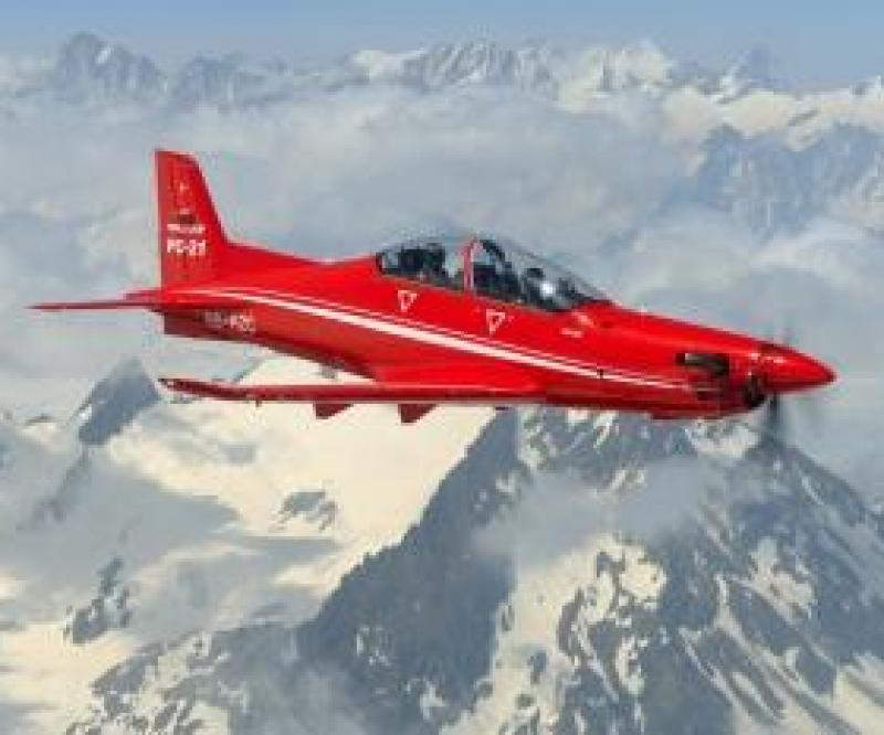 First Flight of the UAE PC-21
