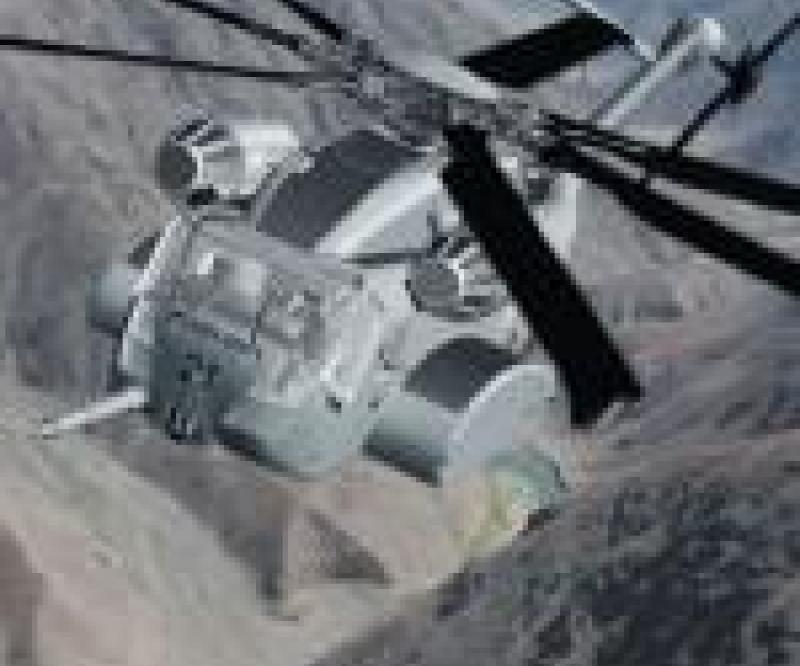 ITT: 1st Assembly for CH-53K Helicopter