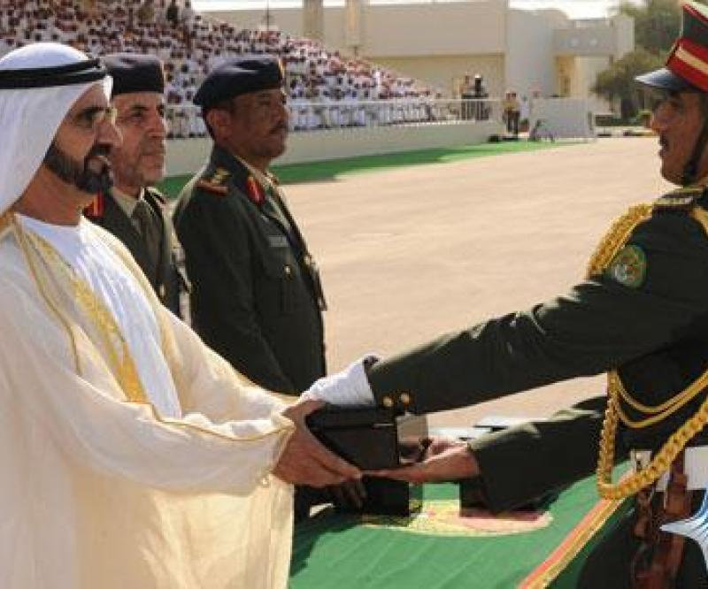 Sheikh Mohammed Attends Graduation Ceremony