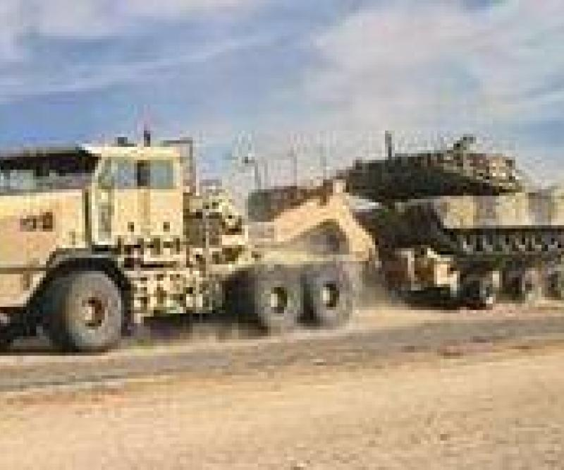 Al Jaber Selects Oshkosh HET for UAE Army