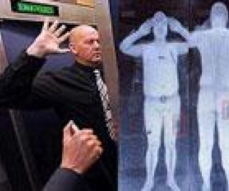 """No Health Risk"" from Airport Body Scanners"