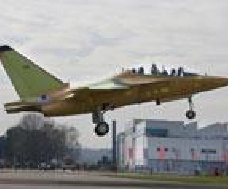 Alenia Aermacchi: First Flight for T-346A